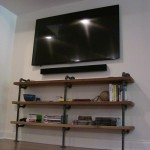 Hoover Basement Remodel Custom Shelves