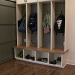 Hoover Basement Remodel Mudroom Storage