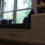 Hoover Basement Remodel Window Seat Storage